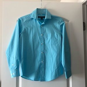 Joseph & Feiss Boys Blue Dress Shirt